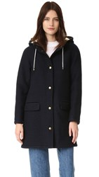 A.P.C. Julia Coat Dark Navy