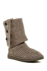 Ugg Classic Cardy Genuine Sheepskin Lined Boot Gray