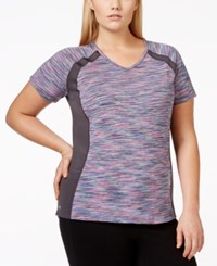 Ideology Plus Size V Neck Active Tee Only At Macy's