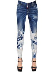 Dsquared Star Washed Skinny Cotton Denim Jeans