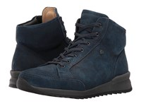 Finn Comfort Linares Stellar Florence Women's Lace Up Casual Shoes Navy