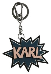 Karl Lagerfeld K Pop Keyring Black