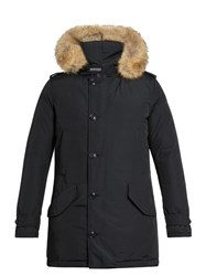 Woolrich Polar Weather Resistant Down Parka Navy