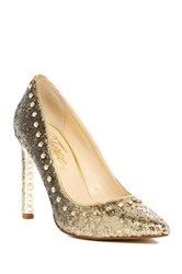 Fergie Helix Studded Pump Metallic