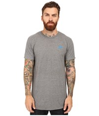Primitive Arch Pennant Lightweight Tee Atheltic Heather Men's T Shirt Gray