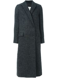 Brunello Cucinelli Goose Down Padded Long Coat Grey