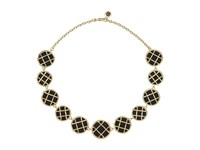 House Of Harlow Phoebe Caged Statement Necklace Black Necklace