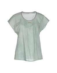 Fabiana Filippi Shirts Blouses Women Light Green