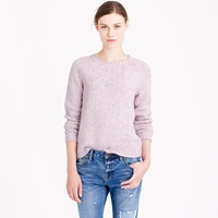 J.Crew Marled Baseball Sweater
