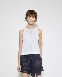 3.1 Phillip Lim Net Stitch Shell