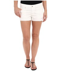 Lucky Brand The Cut Off In White Destructed White Destructed Women's Shorts