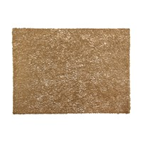 Chilewich Pressed Scribble Rectangle Placemat Brass