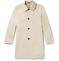Paul Smith Cotton Twill Trench Coat Neutrals