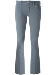 Dondup Bootcut Fit Trousers Grey