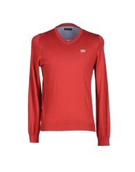 Napapijri Knitwear Jumpers Men Red