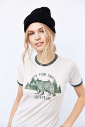 Truly Madly Deeply Bear Adventures Tee Ivory