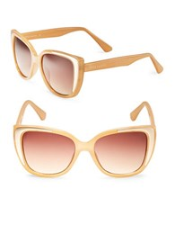 Vince Camuto 51Mm Cats Eye Sunglasses Natural