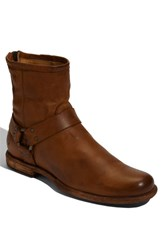 Men's Frye 'Phillip' Harness Boot Cognac