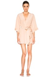 Kiki De Montparnasse Perfect Robe In Pink Neutrals