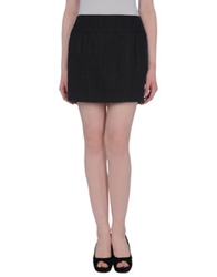 Aspesi Mini Skirts Black