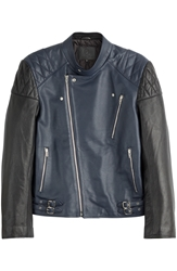 Mcq By Alexander Mcqueen Off Road Leather Biker Jacket