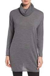 Eileen Fisher Women's Featherweight Merino Wool Turtleneck Sweater