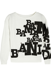 Band Of Outsiders Banda Printed Cotton Jersey Sweatshirt