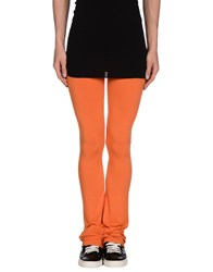 Patrizia Pepe Trousers Leggings Women Orange