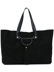 Borbonese Shopper Tote Black