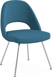 Knoll Saarinen Executive Armless Chair With Tubular Legs
