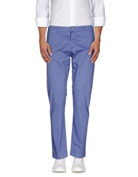Uncode Trousers Casual Trousers Men Pastel Blue