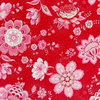 Pip Studio Folklore Chintz Wallpaper 341011 Red