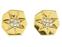 Vince Camuto G Cr Ply Pv Std Gold Earring