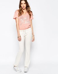 Wildfox Couture Wildfox Malibu Skinny Sweat Pant White