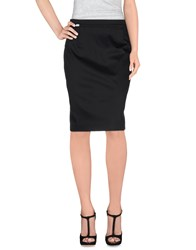 Miss Sixty Skirts Knee Length Skirts Women Black