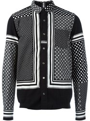 Sacai Multi Print Shirt Black