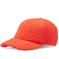 Larose Paris Casentino Wool Baseball Cap Orange