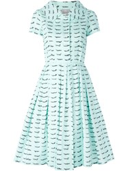 Eggs 'La Palma' Dress Blue