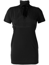 Dsquared2 Embroidered Lace T Shirt Black
