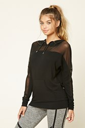 Forever 21 Active Mesh Panel Pullover