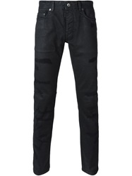 Diesel Black Gold Distressed Jeans