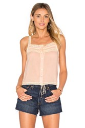 Spell And The Gypsy Collective Prairie Lace Top Blush
