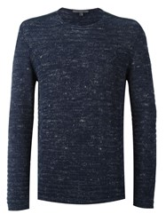 John Varvatos Crew Neck Jumper Blue