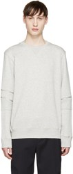 Tim Coppens Grey Core Zipper Pullover