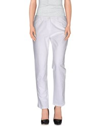 Caractere Trousers Casual Trousers Women White