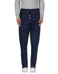 Jijil Trousers Casual Trousers Men Dark Blue