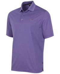Greg Norman For Tasso Elba Big And Tall 5 Iron Performance Golf Polo Mulberry Heather
