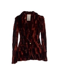 Manila Grace Coats And Jackets Faux Furs Women
