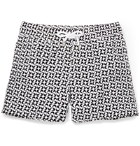 Frescobol Carioca Floripa Short Length Swim Shorts Black
