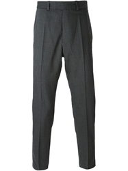 Wood Wood Tailored Trousers Grey